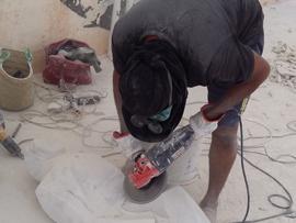 Sculpteurs H. ISA et A. Adayday